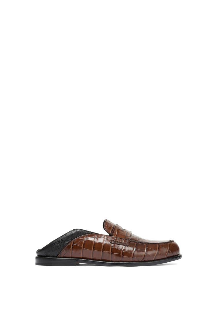 LOEWE Slip On Loafer Marron/Negro pdp_rd