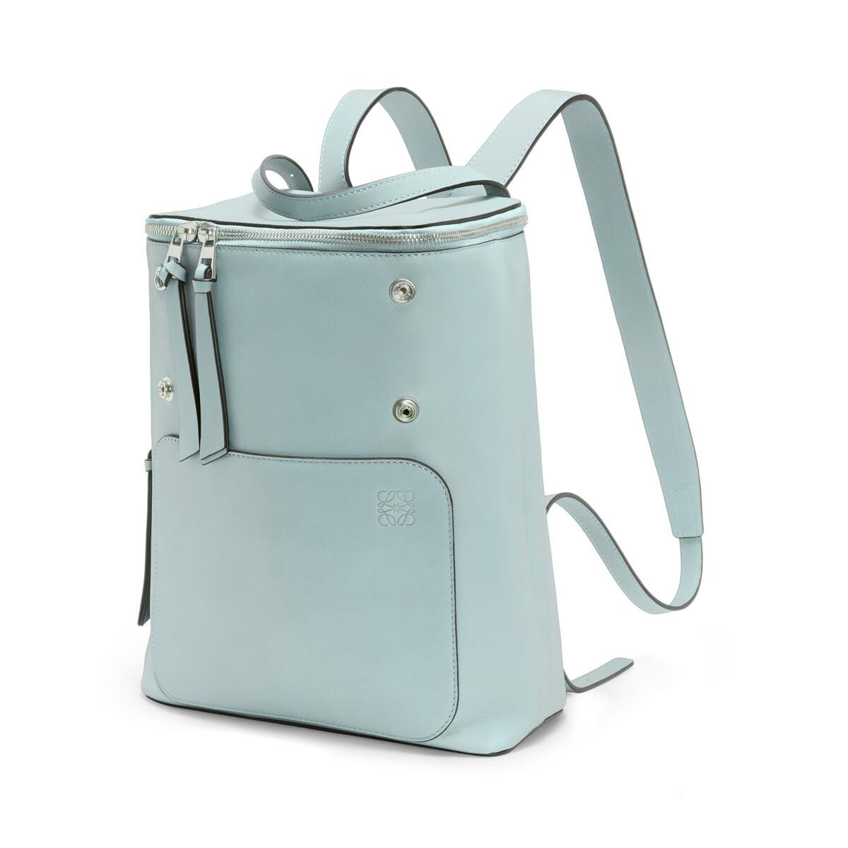 LOEWE Goya Small Backpack Aqua front