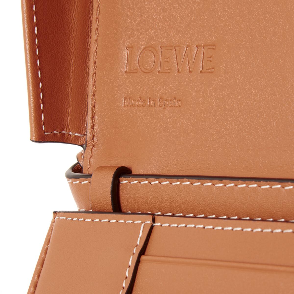 LOEWE Heel Mini Bag Tan front