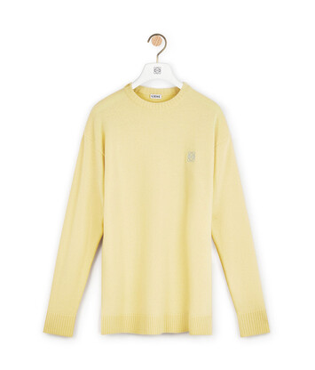 LOEWE Anagram Sweater 沙色 front