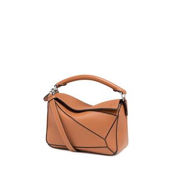 LOEWE Puzzle Mini Bag Bronceado front