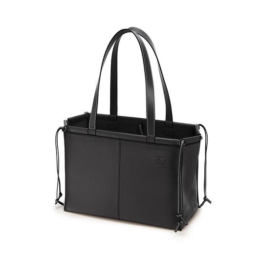 LOEWE Cushion Tote Small Bag Black front