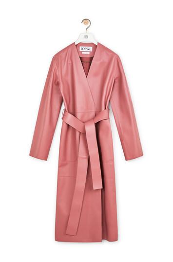 LOEWE Long Coat Rosa front
