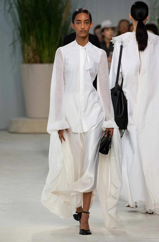 LOEWE Long Sleeve Shirt White front