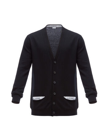 LOEWE Loewe Cardigan Negro front