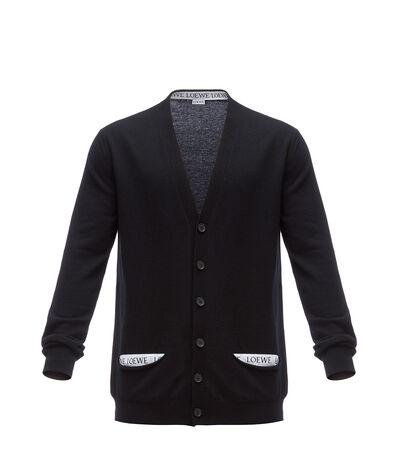 LOEWE Loewe Cardigan Black front