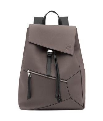 LOEWE Puzzle Backpack 深灰色 front