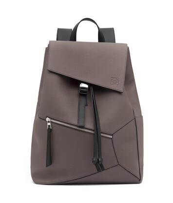 LOEWE Puzzle Backpack Dark Grey front