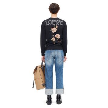 LOEWE Sweatshirt Botanical Negro front