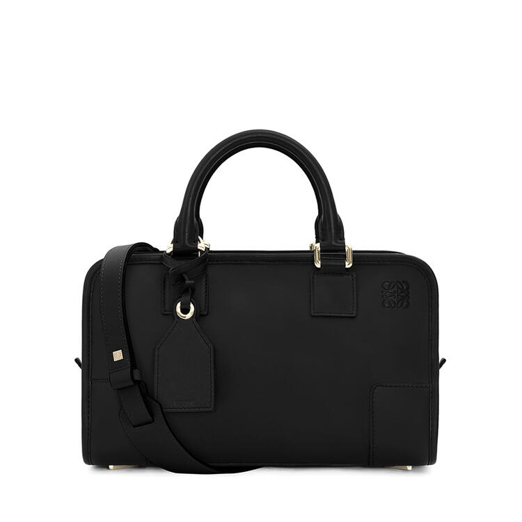 LOEWE Amazona 28 bag in classic calfkin Black/Gold pdp_rd