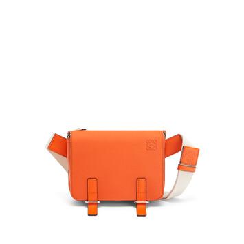 LOEWE Military Bumbag Orange front