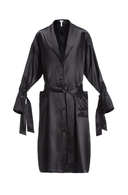 Satin Duster Coat