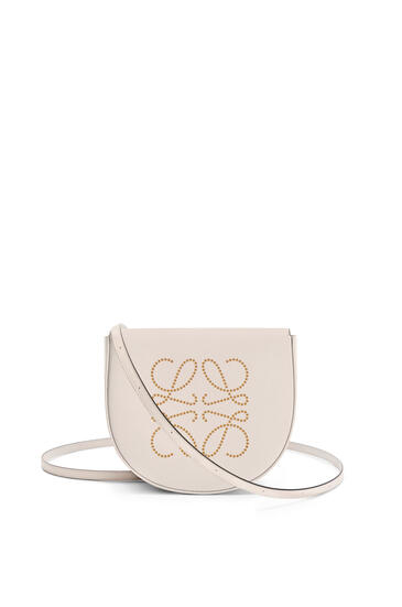 LOEWE Heel bag in soft calfskin Light Oat/Tan pdp_rd