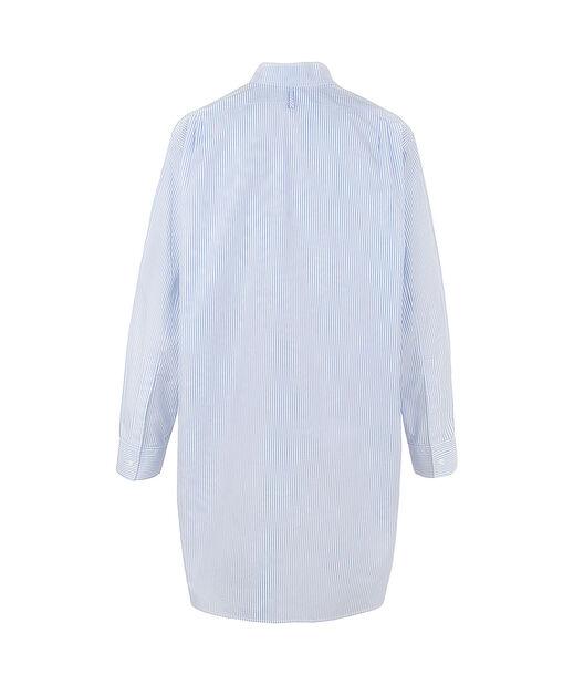 LOEWE Asymmetric Oversize Shirt Light Blue/White front