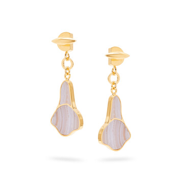 LOEWE Calla Earrings Lilac front