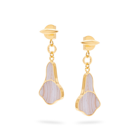 LOEWE Calla Earrings Lilac front