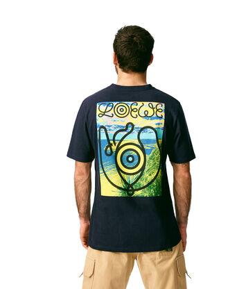 LOEWE T-Shirt Loewe Eye Marino front