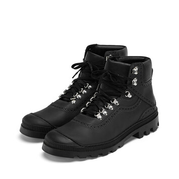 LOEWE Hiking Boot Black front