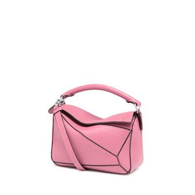 LOEWE Mini Puzzle Bag Wild Rose front
