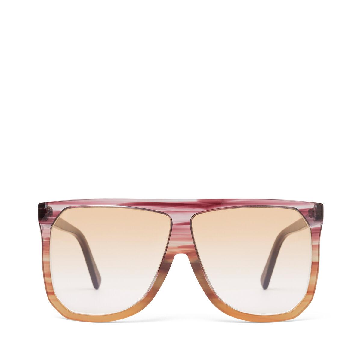 LOEWE Filipa Sunglasses Plum/Orange/Gradient Yelow front