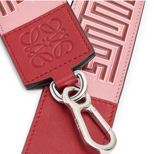 LOEWE Maze Strap Candy/Rouge front