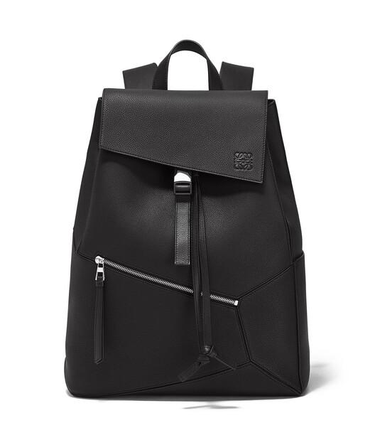 LOEWE Puzzle Backpack Black front