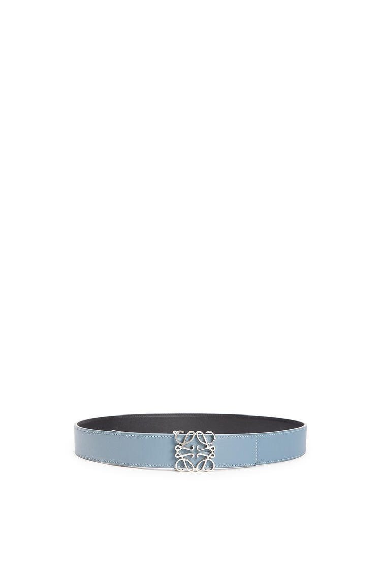 LOEWE Cinturon Anagrama 3.2cm Azul Piedra pdp_rd