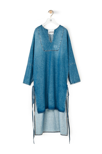 LOEWE Denim Tunic Dress Denim Lavado front