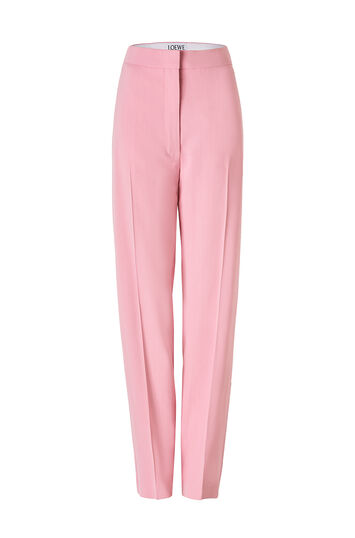 LOEWE Trousers 粉色 front