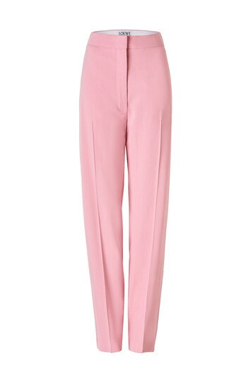 LOEWE Trousers Pink front