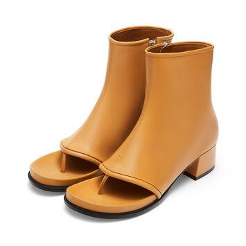 LOEWE Thong Boot 60 驼色 front