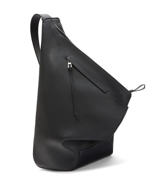 LOEWE Anton Small Backpack Black front