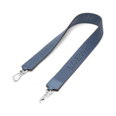 LOEWE Perforated Strap Varsity Blue front