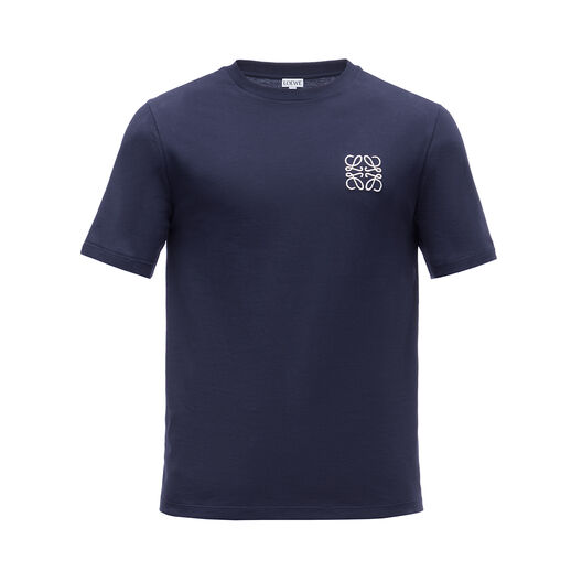 LOEWE アナグラム T-シャツ ネイビーブルー front