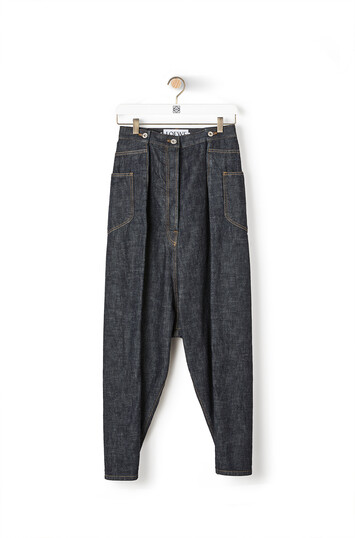 LOEWE Oversize Jeans 单宁蓝 front