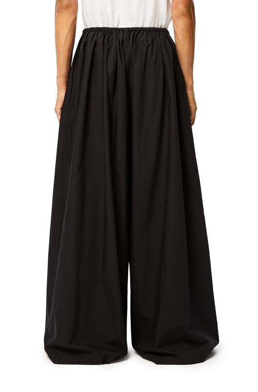 LOEWE Ov Drawstring Trousers Black front