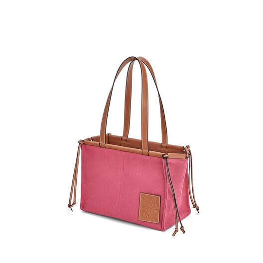 LOEWE Cushion Tote Small Bag Raspberry front