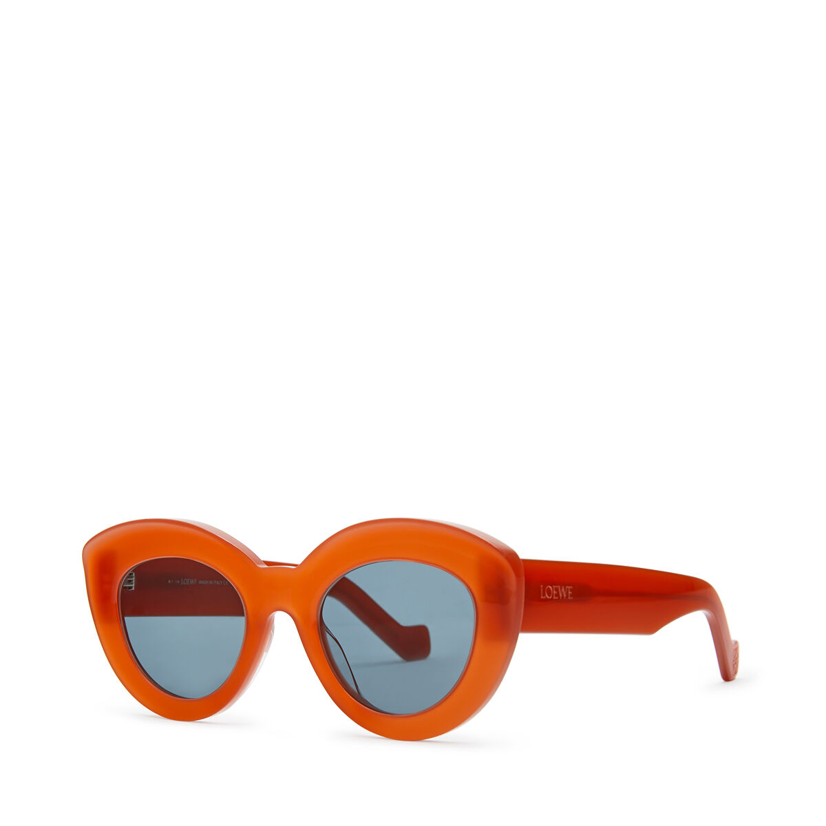 LOEWE Butterfly Sunglasses Red front
