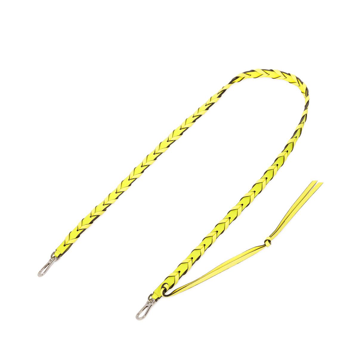 LOEWE Braided Thin Strap Yellow Multitone front