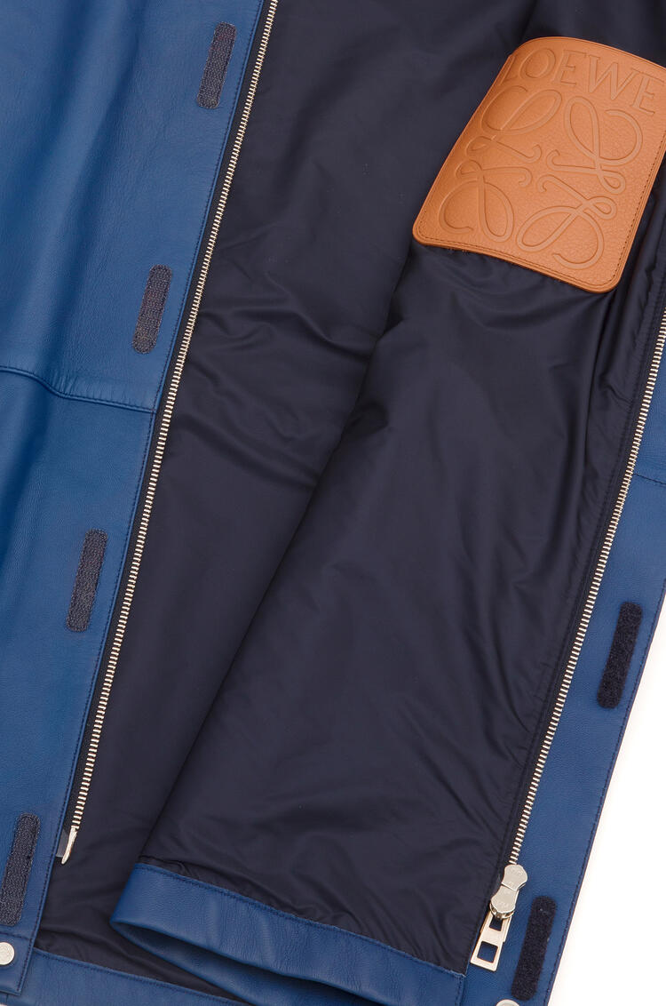 LOEWE Light hiking jacket in nappa 海軍藍 pdp_rd