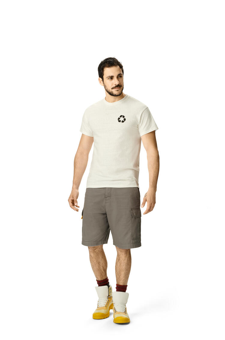 LOEWE Cargo shorts in cotton 煤灰 pdp_rd