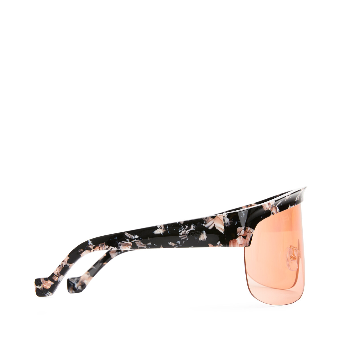 LOEWE Show Sunglasses Black/Orange front