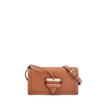 LOEWE Barcelona Soft Mini Bag 棕褐 front