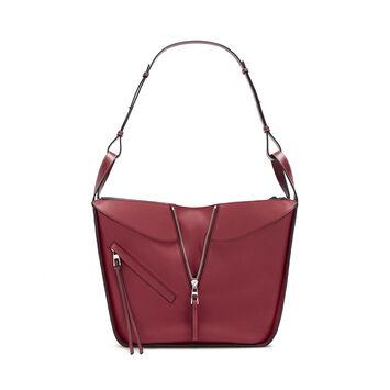LOEWE Hammock Small Bag 覆盆莓色 front