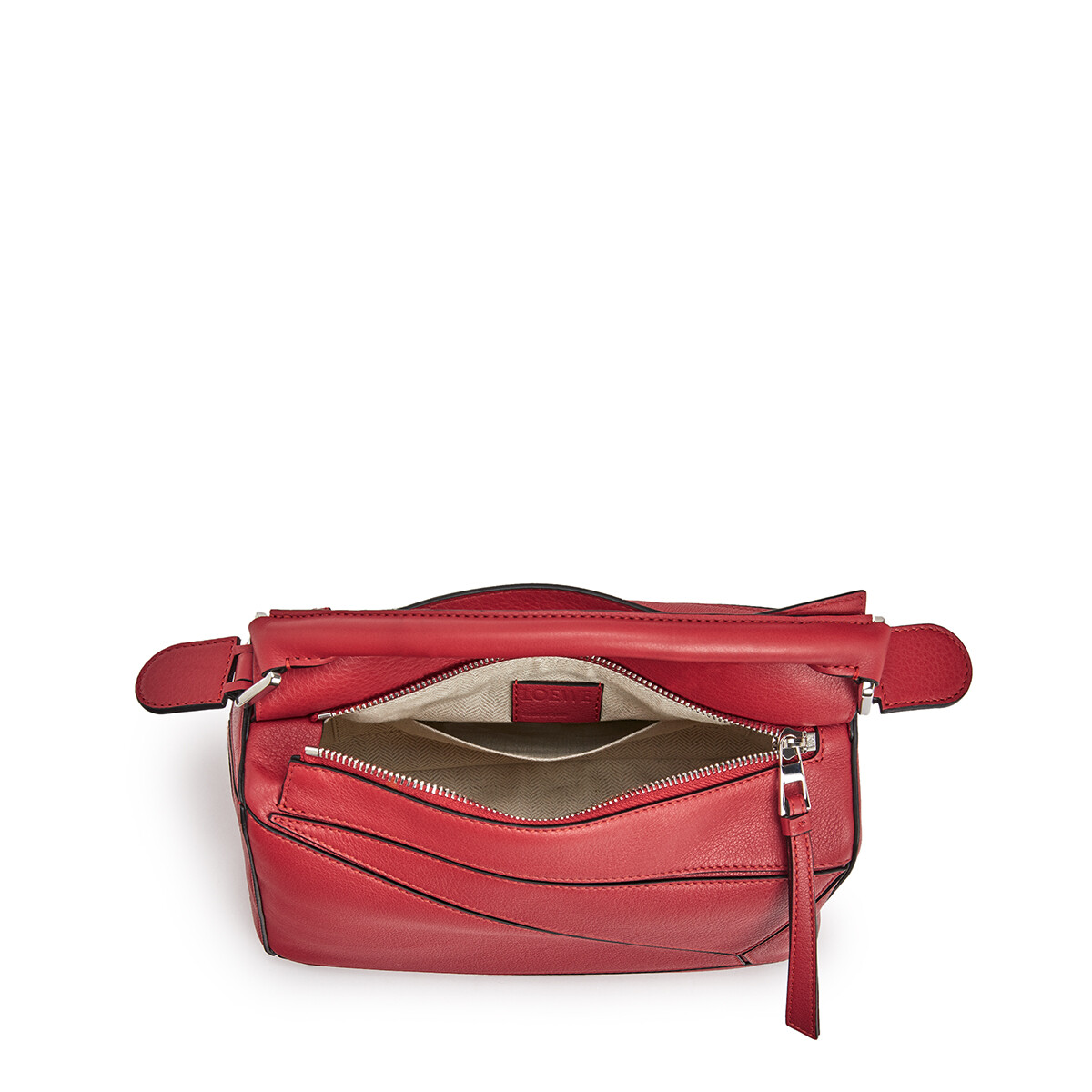 LOEWE Puzzle Small Bag Pomodoro front