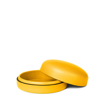 LOEWE ボックスミディアム Yellow Yolk front