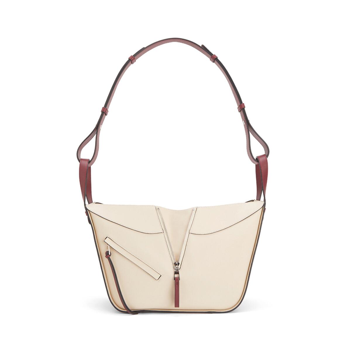 LOEWE Hammock Small Bag Garnet/Ivory front