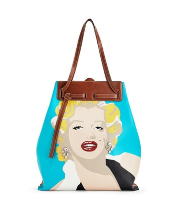 LOEWE Lazo Tote Marylin Multicolor front