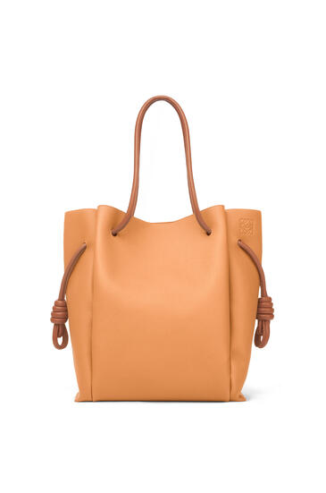 LOEWE Flamenco Knot Tote Bag Light Caramel/Tan pdp_rd
