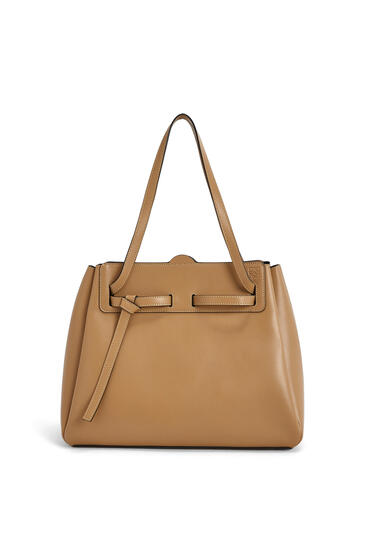 LOEWE Lazo shopper bag in box calfskin Dune pdp_rd